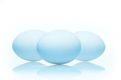 τα αυγά απομόνωσαν το λε&upsi Στοκ Εικόνα