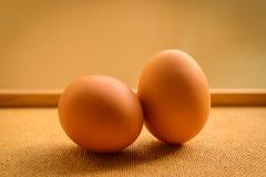 τα αυγά κοτόπουλου κα&lambda Στοκ εικόνα με δικαίωμα ελεύθερης χρήσης