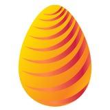 τα αυγά Πάσχας ανασκόπησης απομόνωσαν το λευκό διακοσμημένη απεικόνιση αυγών Πάσχας διανυσματική απεικόνιση