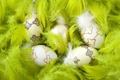 τα αυγά Πάσχας επενδύουν &m Στοκ εικόνες με δικαίωμα ελεύθερης χρήσης