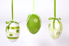 Τα αυγά Πάσχας Στοκ φωτογραφίες με δικαίωμα ελεύθερης χρήσης