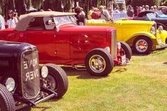 τα αυτοκίνητα παλαιά εμφ&alph Στοκ εικόνες με δικαίωμα ελεύθερης χρήσης