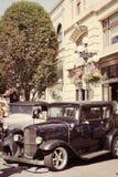 τα αυτοκίνητα παλαιά εμφ&alph Στοκ φωτογραφίες με δικαίωμα ελεύθερης χρήσης