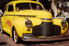 τα αυτοκίνητα παλαιά εμφ&alph Στοκ φωτογραφία με δικαίωμα ελεύθερης χρήσης