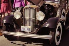 τα αυτοκίνητα παλαιά εμφ&alph Στοκ Φωτογραφία