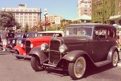 τα αυτοκίνητα παλαιά εμφ&alph Στοκ Εικόνες