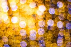 τα αφηρημένα Χριστούγεννα θαμπάδων ανάβουν bokeh για το σχέδιο και το υπόβαθρο Στοκ φωτογραφία με δικαίωμα ελεύθερης χρήσης