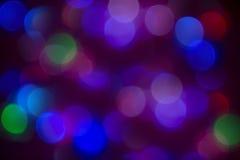 Αφηρημένα χρώματα bokeh Στοκ Εικόνες