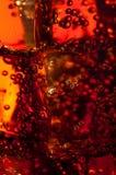 τα αφηρημένα bubles πίνουν τον πάγ&om Στοκ Εικόνες