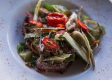 Τα λαχανικά σαλάτας τους Στοκ Εικόνες