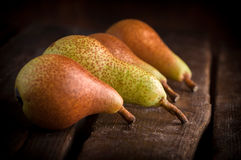 τα αχλάδια παρουσιάζου&nu Στοκ Εικόνα
