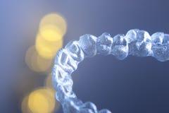 Τα αόρατα δόντια ενισχύουν τα υποστηρίγματα Στοκ εικόνα με δικαίωμα ελεύθερης χρήσης