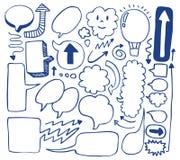 τα βέλη σύρουν την καθορι&sig Στοκ φωτογραφίες με δικαίωμα ελεύθερης χρήσης