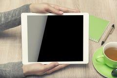 τα βέλη μπορούν να διαγράψουν απολαμβάνουν εάν το PC ανάγκης στρώματος χωριστό τα τοποθετεί σε μορφή ταμπλέτας εσείς Στοκ εικόνες με δικαίωμα ελεύθερης χρήσης