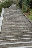 Τα βήματα τοποθετούν δημόσια με κανένα Στοκ Εικόνα