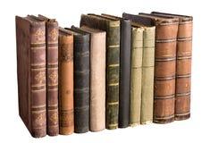 τα βιβλία απομόνωσαν την πα& Στοκ Φωτογραφίες