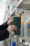 τα βιβλία βρίσκουν τις νε Στοκ Φωτογραφία