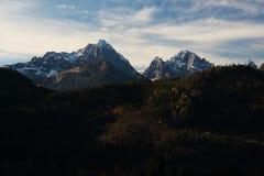 Τα βουνά Άλπεων Στοκ εικόνα με δικαίωμα ελεύθερης χρήσης