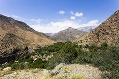 Τα βουνά ατλάντων στο Μαρόκο Στοκ Φωτογραφία