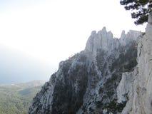 Τα βουνά είναι μια θαυμάσια δημιουργία της φύσης Στοκ Εικόνες