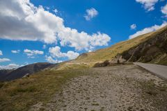 Τα βουνά κεντρικά Apennines Στοκ Φωτογραφία