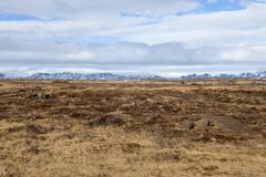 Τα βουνά στον απόμακρο Στοκ εικόνα με δικαίωμα ελεύθερης χρήσης