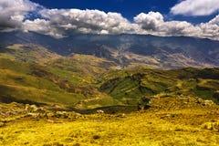 τα βουνά της Αιθιοπίας στοκ εικόνα με δικαίωμα ελεύθερης χρήσης