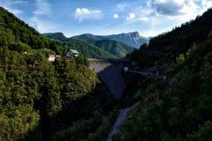 Τα βουνά της Τοσκάνης Στοκ Εικόνες