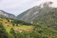 Τα βουνά του Μαυροβουνίου Στοκ Εικόνα