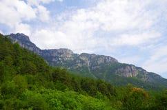 Τα βουνά του μύθου Στοκ Εικόνες