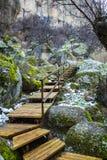 Τα βουνά του cappadocia Στοκ εικόνες με δικαίωμα ελεύθερης χρήσης