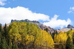 Τα βουνά του San Juan του Κολοράντο το φθινόπωρο στοκ φωτογραφία με δικαίωμα ελεύθερης χρήσης