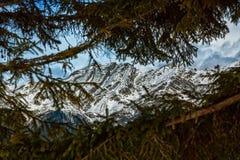Τα βουνά Στοκ Εικόνες