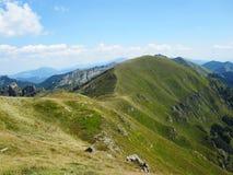 Τα βουνά Apennine στην Ιταλία Στοκ Εικόνα