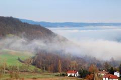 τα βουνά Apennine Στοκ εικόνα με δικαίωμα ελεύθερης χρήσης
