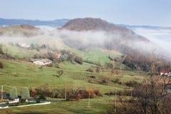 τα βουνά Apennine Στοκ Εικόνες