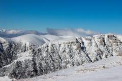 Τα βουνά Bucegi το χειμώνα Στοκ φωτογραφία με δικαίωμα ελεύθερης χρήσης