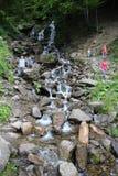 Τα βουνά Carpathians δεν είναι τόσο υψηλά αλλά πολύ μεγαλοπρεπή στοκ εικόνες με δικαίωμα ελεύθερης χρήσης