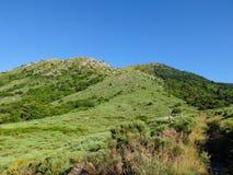 Τα βουνά Cevennes στη Γαλλία Στοκ φωτογραφία με δικαίωμα ελεύθερης χρήσης
