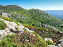 Τα βουνά Cevennes στη Γαλλία Στοκ εικόνες με δικαίωμα ελεύθερης χρήσης