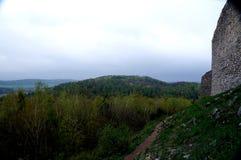 Τα βουνά Swietokrzyskie Στοκ εικόνα με δικαίωμα ελεύθερης χρήσης