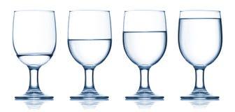 τα γεμισμένα γυαλιά που τ Στοκ φωτογραφία με δικαίωμα ελεύθερης χρήσης