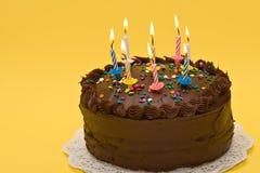 τα γενέθλια μεταχειρίζο& Στοκ Εικόνες