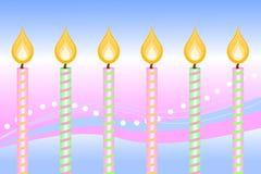 τα γενέθλια σημαδεύουν &eps διανυσματική απεικόνιση