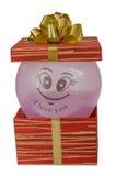 Τα γενέθλια, κιβώτιο, γιορτάζουν, εορτασμός, Χριστούγεννα, δώρο Χριστουγέννων, δώρο, giftbox, που απομονώνεται Στοκ Φωτογραφία
