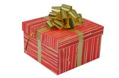 Τα γενέθλια, κιβώτιο, γιορτάζουν, εορτασμός, Χριστούγεννα, δώρο Χριστουγέννων, δώρο, giftbox, που απομονώνεται Στοκ Εικόνες