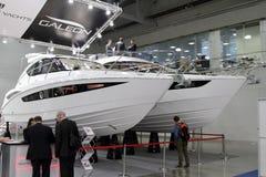Τα γιοτ Galeon θάλασσας για τη διεθνή βάρκα 10 παρουσιάζουν στη Μόσχα russ Στοκ φωτογραφία με δικαίωμα ελεύθερης χρήσης