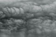 Η δυσοίωνη θύελλα καλύπτει σαν armageddon. Στοκ Φωτογραφίες