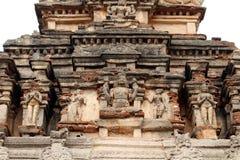 Τα γλυπτά γύρω από πιθανώς το ναό Sri Krishna στο εκτάριο στοκ εικόνα