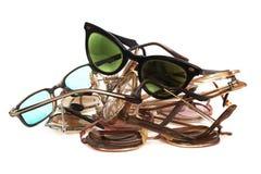 τα γυαλιά από παίρνουν το &sigma Στοκ Φωτογραφίες